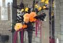 札幌のアレンジメントフラワー。花屋「凛花」さんのアート作品